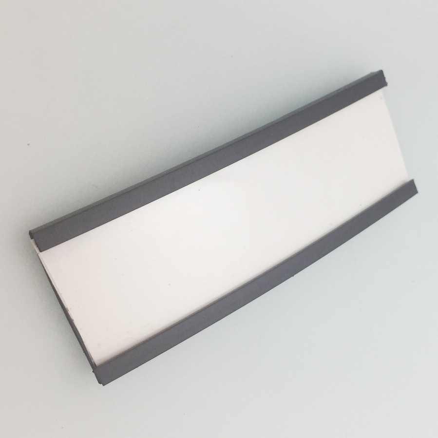 C Channel Magnetic Label Holder Strip
