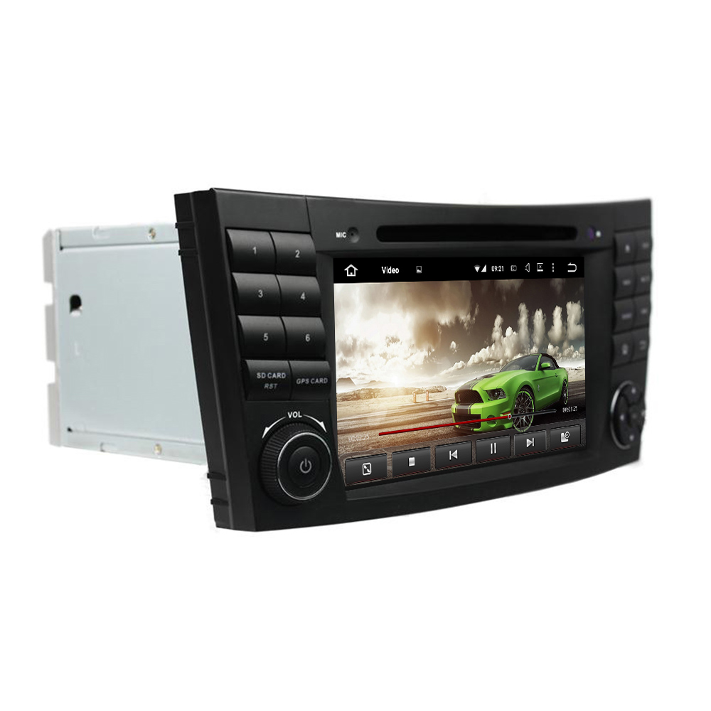 4GB RAM Octa Core Android 6 0 Car Radio DVD Player for Benz E Class W211