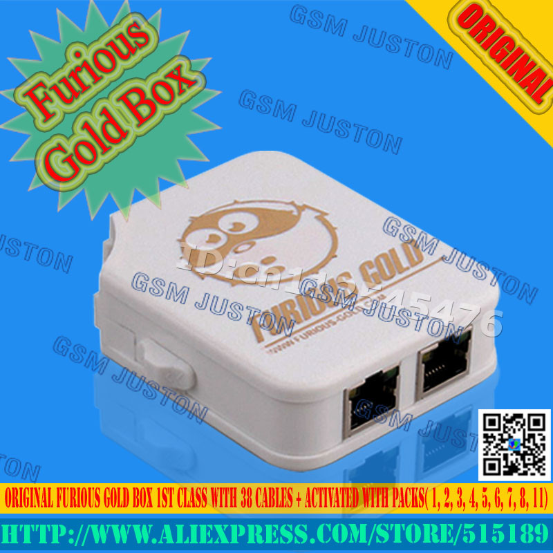 Furious Gold Box 1ST CLASS With 30 Cables + Activated With Packs( 1, 2, 3, 4, 5, 6, 7, 8, 11) Free Shipping By Post Air Mail