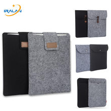 Soft Sleeve Felt Bag for new iPad Pro 9.7/10.5 inch Case for New iPad 9.7 2018/for xiaomi mipad 4 plus 10.1 2018 Tablet PC Cover(China)