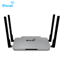 WR346 Gigabit WiFi Router 802,11 AC Echtem 1200Mbps Dual Band 512MB DDR3 MT7621 5DBi Externe Antennen Starke Signal für Büro