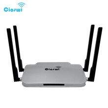 WR346 기가비트 WiFi 라우터 802.11AC 정품 1200Mbps 듀얼 밴드 512MB DDR3 MT7621 5DBi 외부 안테나 사무실 용 강력한 신호