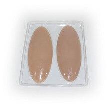 Silicone perna onlays almofadas de bezerro de silicone para pernas tortos ou finas corpo beleza fornecimento de silicone almofadas de pé on line loja por atacado