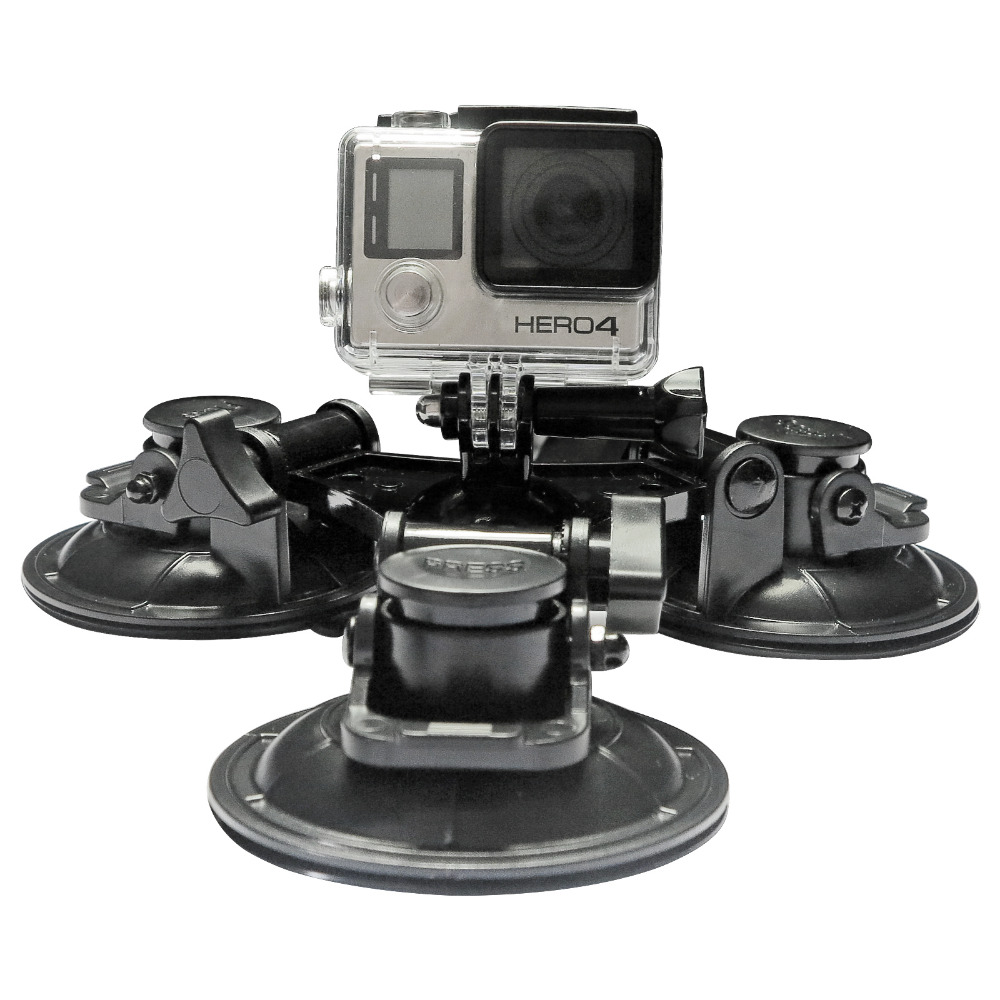 Low Angle Removable Car <font><b>Suction</b></font> <font><b>Cup</b></font> <font><b>Mount</b></font> For GoPro Hero 4 3 5 Session Xiaomi Yi 4K SJ4000 SJ5000 Gopro Session Accessories