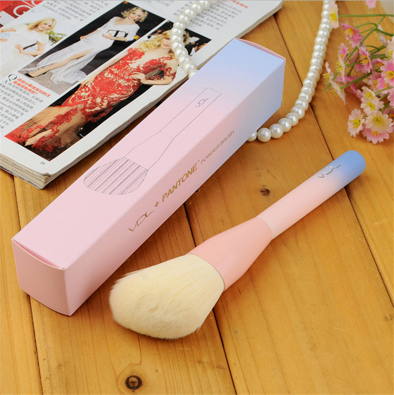 Gradientowy kolor Różowy puder do makijażu Pędzle Pantone 4szt. - Makijaż - Zdjęcie 2