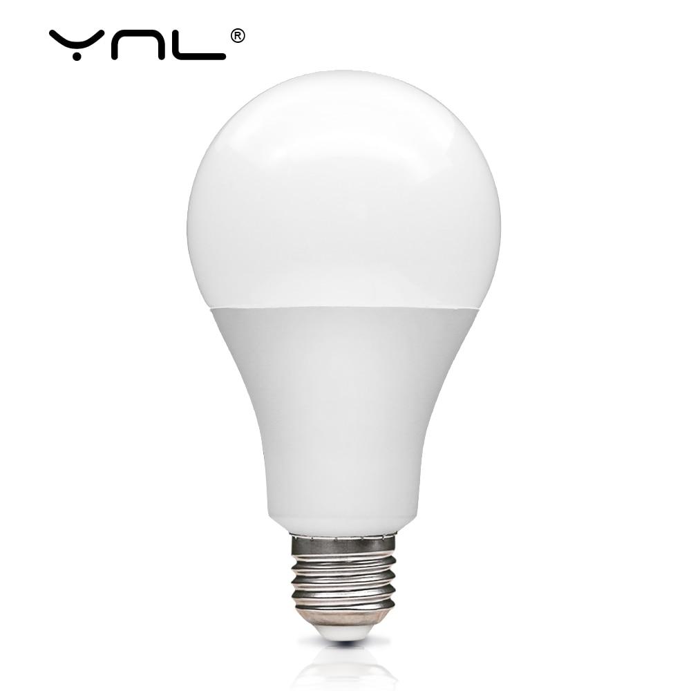 E27 LED Bulb Table Lamps 3W 6W 9W 12W 15W 18W Lampada Spot LED Light Bulb AC 220V 230V 240V Bombilla Spotlight Cold Warm White