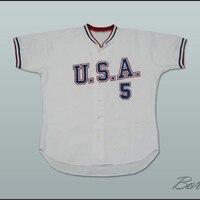 Matt LaPorta 5 USA Team Baseball Jersey New Any Number Or Name Custom Jerseys Big Tall