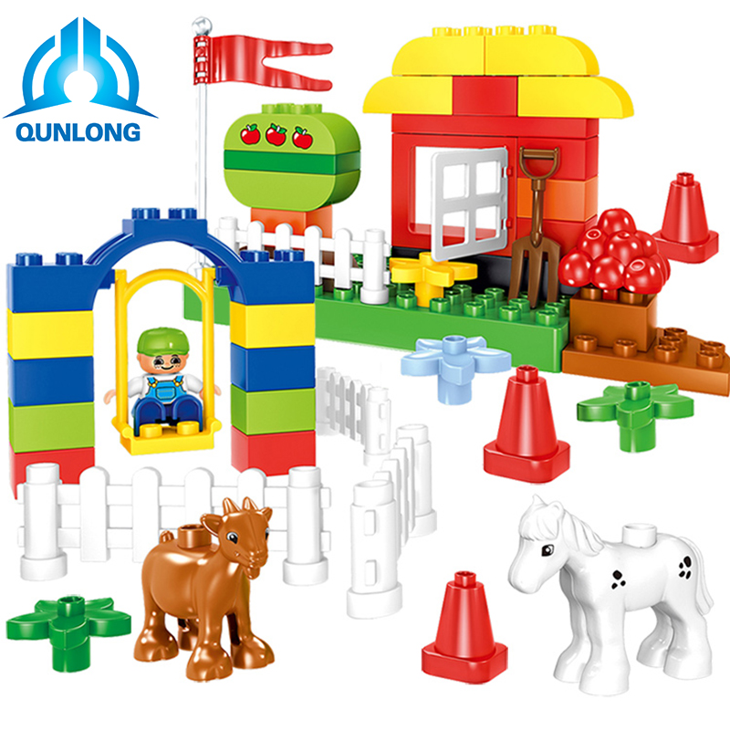 Blocks, Pcs, Animals, Building, Toys, City