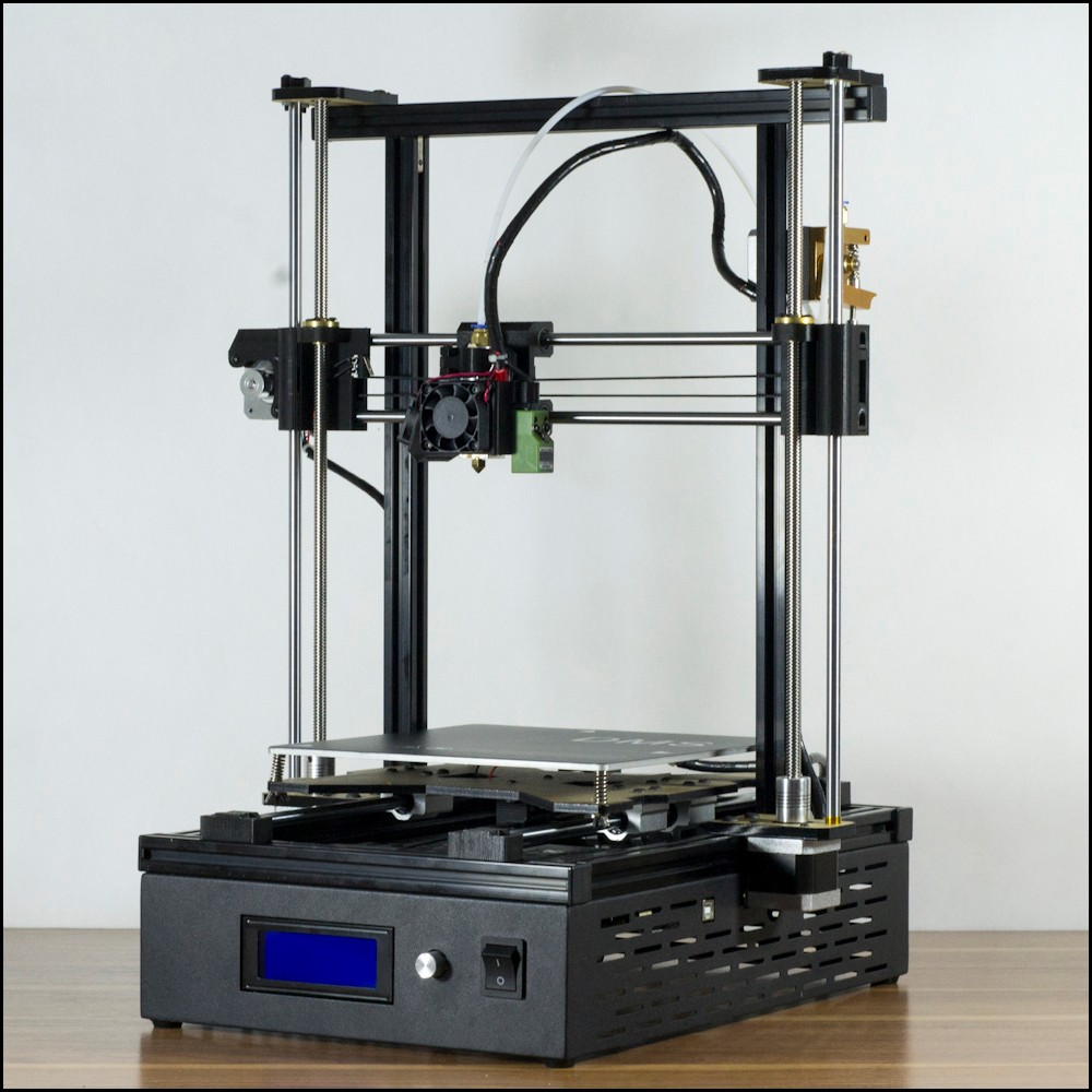 DMS DP5 200*200*270mm Auto leveling 3D Printer KIT,10 mins install,24V SMPS,metal extruder,200W hot bed,metal base thyssen parts leveling sensor yg 39g1k door zone switch leveling photoelectric sensors