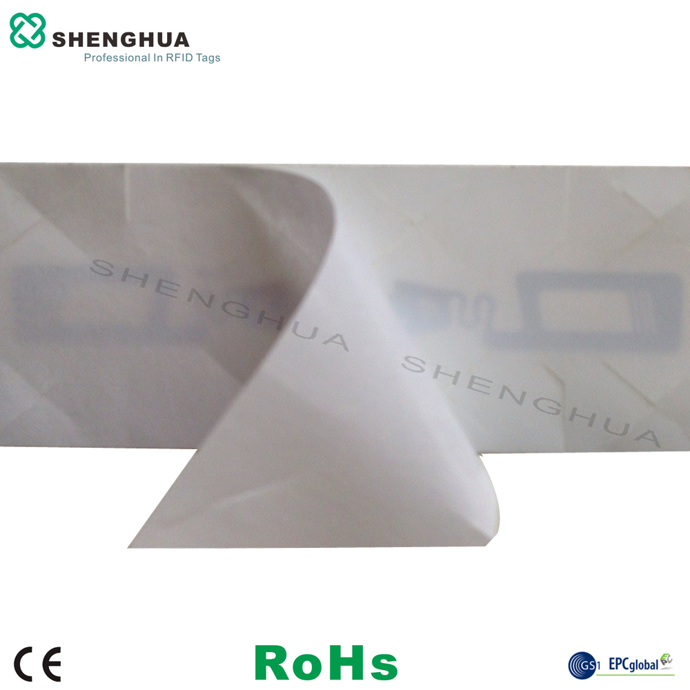200pcs/box Anti Fake Self Destructive Tamper Proof Nfc Antenna Chip Tags Disposable Rfid Tag Rfid Label