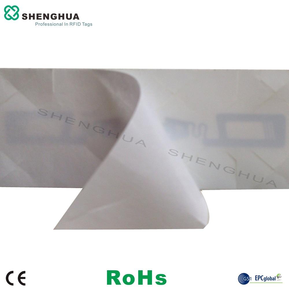 200pcs/box Anti Fake Self Destructive Tamper Proof Nfc Antenna Chip Tags Disposable Rfid Tag Rfid Label