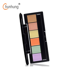 2016 New Pro Concealer Palette of Corrective Face Cosmetic Makeup Neutral Corrector 6 Color Professional Foundation