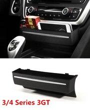 Nero Sostituire Il tipo di Center Console Storage box decorazione ABS Auto accessori interni per BMW Serie 3/4 3GT F30 F34