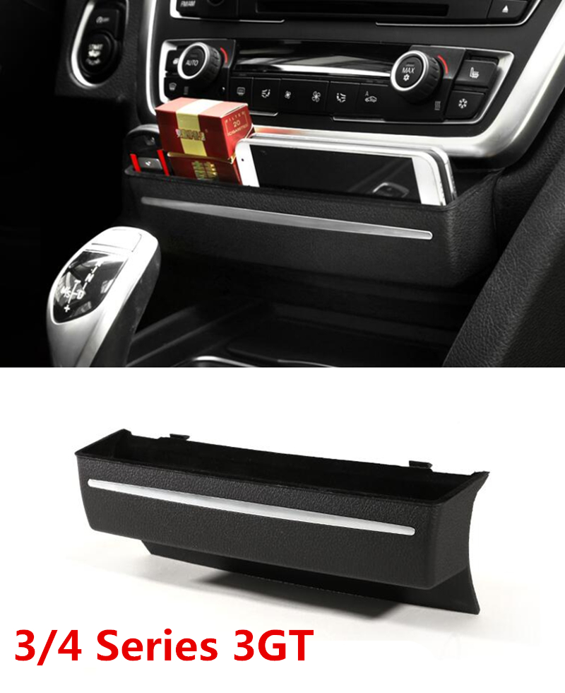 black replace type center console storage box decoration abs car interior accessories for bmw 3. Black Bedroom Furniture Sets. Home Design Ideas