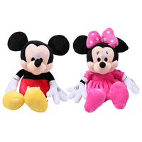 Hot Sale 50CM 2015 Hot Sale New 1 Pcs American Lovely Mickey Mouse Or Minnie Mouse