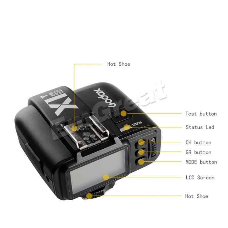 Aliexpress.com : Buy Godox X1T N TTL 2.4G Wireless Flash Trigger+ ...