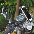 [JFSDZ Motorcycle Bicycle Phone Holder Mobile Phone Stand Support for Phone All kinds of Mobile /GPS / PDA /MP4GPS Bike Holder