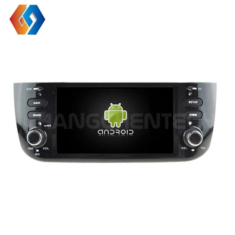 8,0 дюймов android 6,2 радио ips сенсорный экран dvd плеер автомобиля Мультимедиа gps навигация для FIAT Punto/LINEA 2016 2010 wifi/BT/4G 2