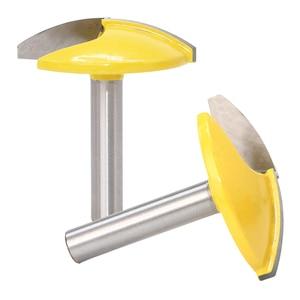 Image 2 - Fresa de vástago de 8mm, fresa de borde recto, cortador de cuchillo de ranurado, brocas planas finas, mango de corte para fresadora de madera y carpintería