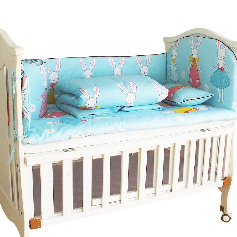 10 шт. Детские Постельное белье для новорожденных девочек и мальчиков, Детские спальные кроватки Постельное белье, кроватка постельное бель