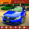 Royal Blue High Gloss Carbins Exclusive Film Crystal Vinyl Wraps Car Body Stickers And Protection