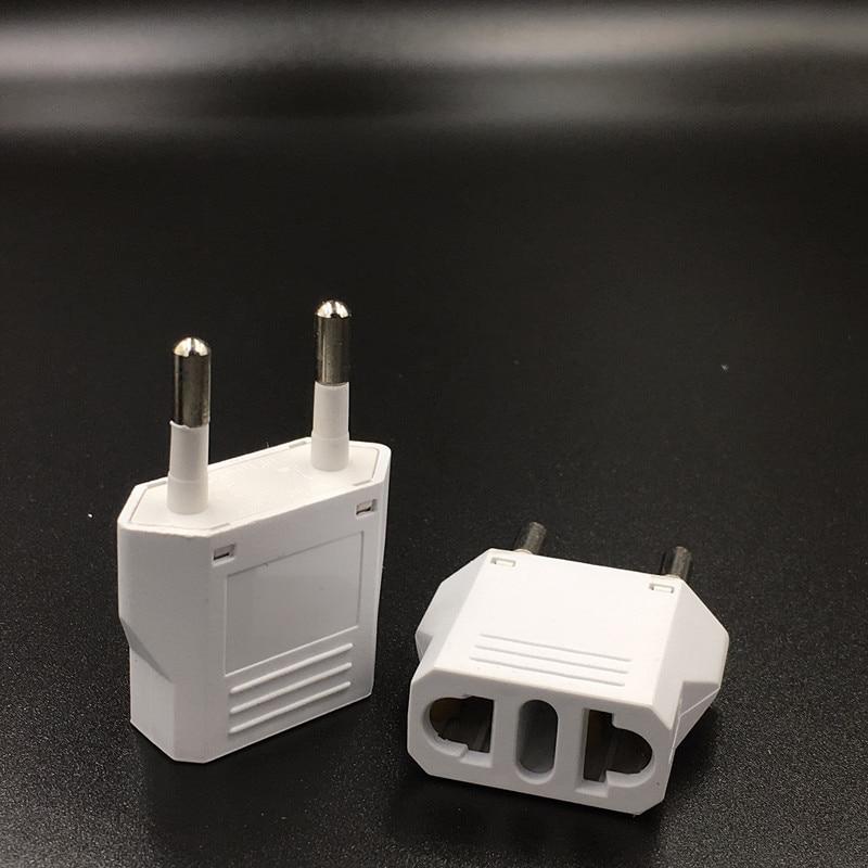 3 шт. EU KR дорожный адаптер питания US на EU Электрический Конвертер розетка адаптер розетка