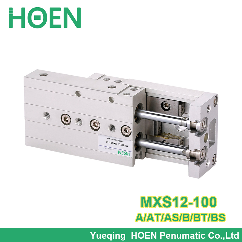 MXS12-100 MXS12-100AS MXS12-100A MXS12-100AT MXS12-100B MXS12-100BT MXS12-100BS Air Slide Table Double Acting Pneumatic CylinderMXS12-100 MXS12-100AS MXS12-100A MXS12-100AT MXS12-100B MXS12-100BT MXS12-100BS Air Slide Table Double Acting Pneumatic Cylinder