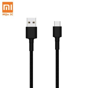 Оригинальный кабель Xiaomi Type-C Tyle C USB C 100 см плетение быстрое зарядное устройство кабель для телефона для Xiaomi OnePlus Huawei тип телефона C порт
