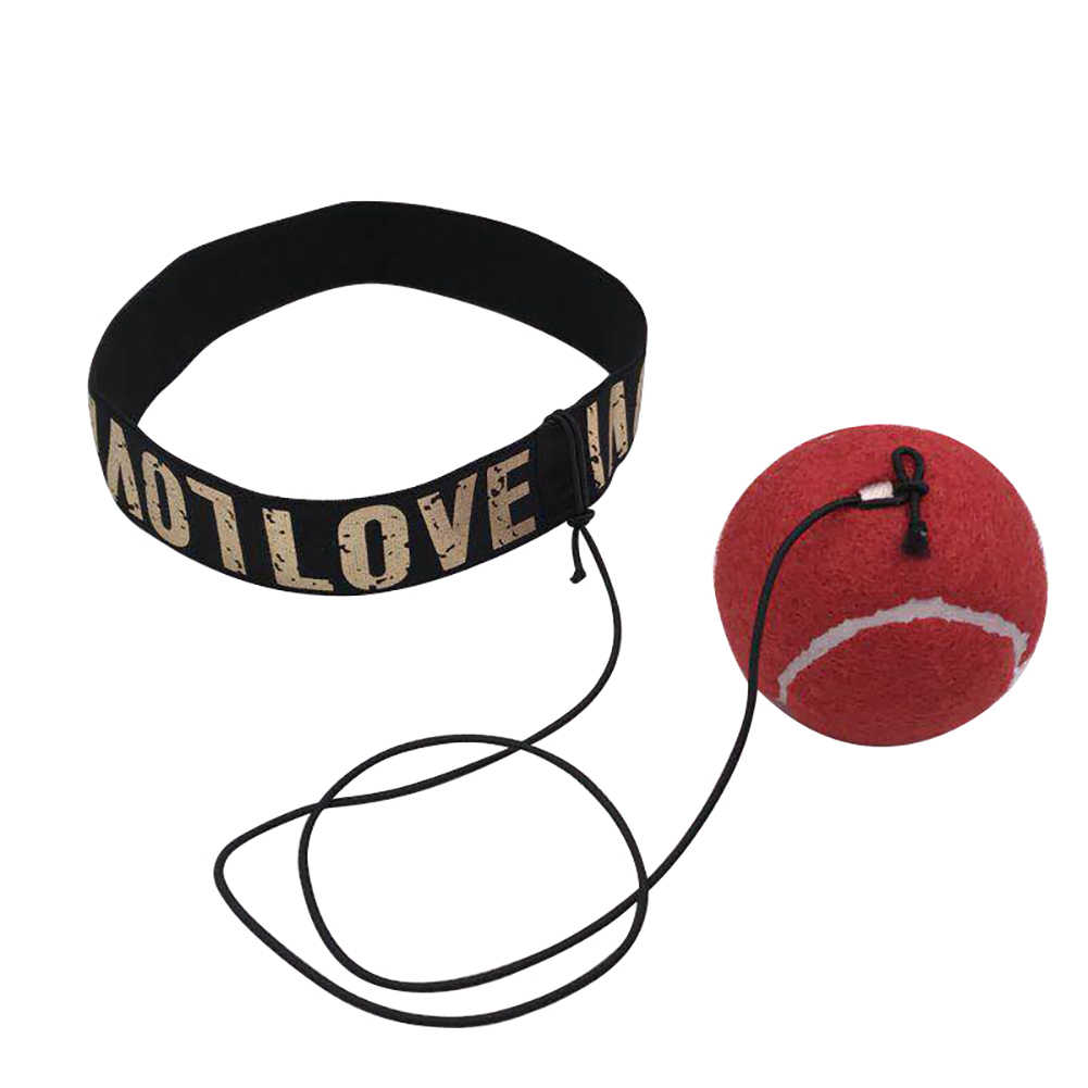New Fight Ball Boxing Equipment Training Accessories Reflex Speed Ball Muay Thai Trainer Quick Response Ball Punching Fitness
