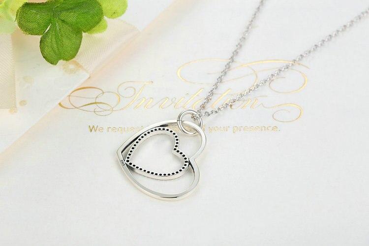 HTB1oY.QJVXXXXbRXXXXq6xXFXXXN - 100% Real 925 Sterling Silver Heart To Heart Romantic Pendant