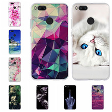 For Coque Xiaomi Mi A1 A2 Lite 6 Case Soft Silicone Cover Funda 3D MiA1 Phone