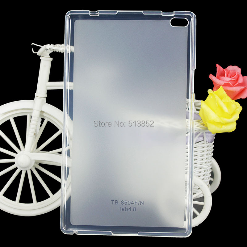 KTG1141_2_High Quality Pudding Anti Skid Soft Silicone TPU Protection Case for Lenovo Tab 4 8 inch Tablet TB-8504F 8504N