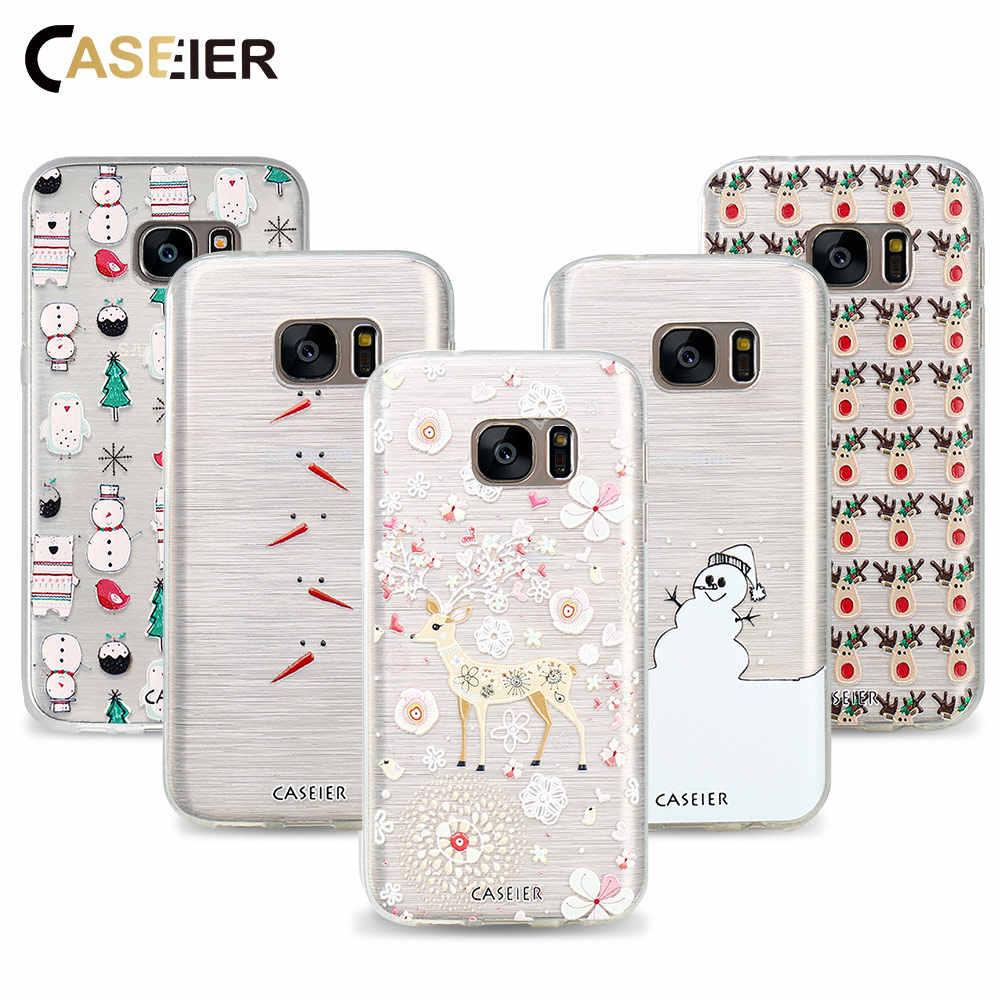 979b1735555 CASEIER Phone Case For Samsung Galaxy S6 S7 Edge S8 Plus Note 8 Cover Soft  TPU