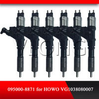 Howo vg1038080007 용 정품 및 신형 커먼 레일 인젝터 095000-8871