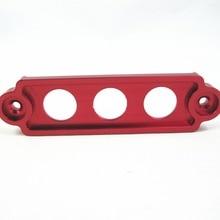 Заготовка из анодированного алюминия Крепление аккумулятора для Honda Civic S2000 Integ красный