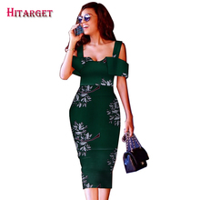 Hitarget dashiki african dresses for women sexy lady print clothing party/wedding  WY3682