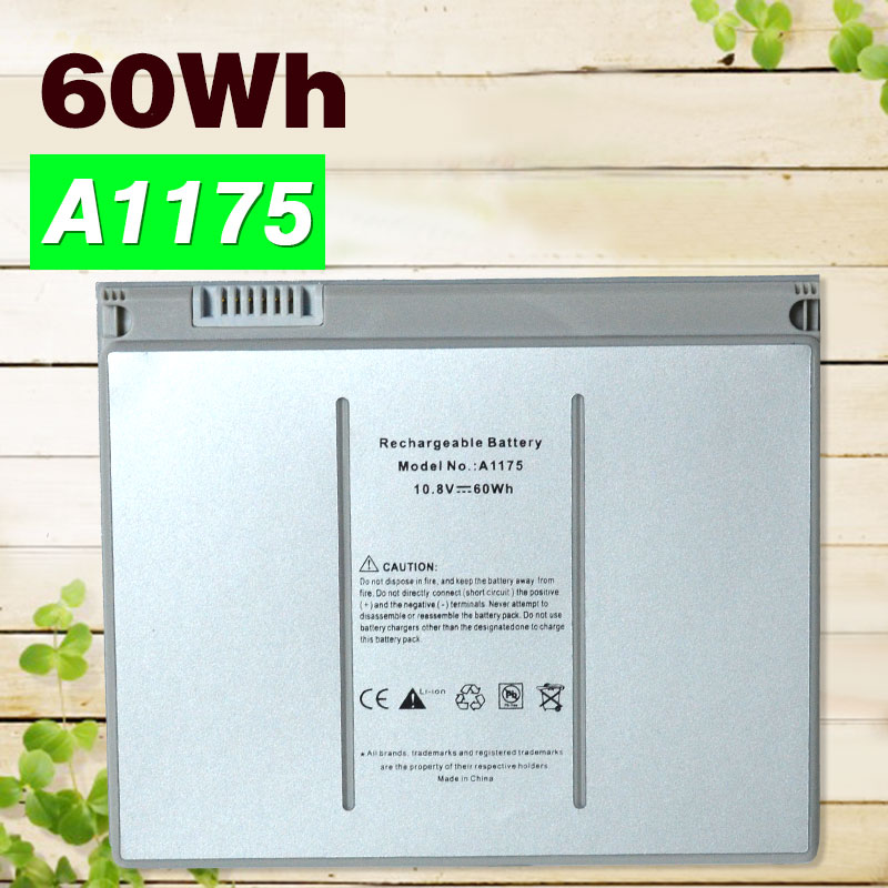 60WH Laptop Battery A1175 For Apple MA348 MA348*/A MA348G/A for MACBOOK Pro 15 A1150 A1260 MA463 MA463LL MA464 MA600 MA601 a1175 ma348 original laptop battery for apple macbook pro 15 a1150 a1211 a1226 a1260 ma463 ma464 ma600 ma601