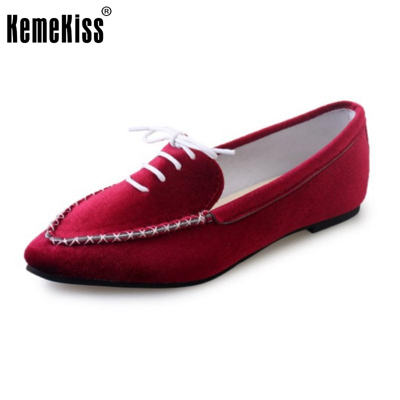 Summer Style Flat Shoes Women Fashion Slip On Flats Fashion Pointed Toe Footwear Ladies Cross Strap Zapatos Mujer Size 35-39 pu pointed toe flats with eyelet strap