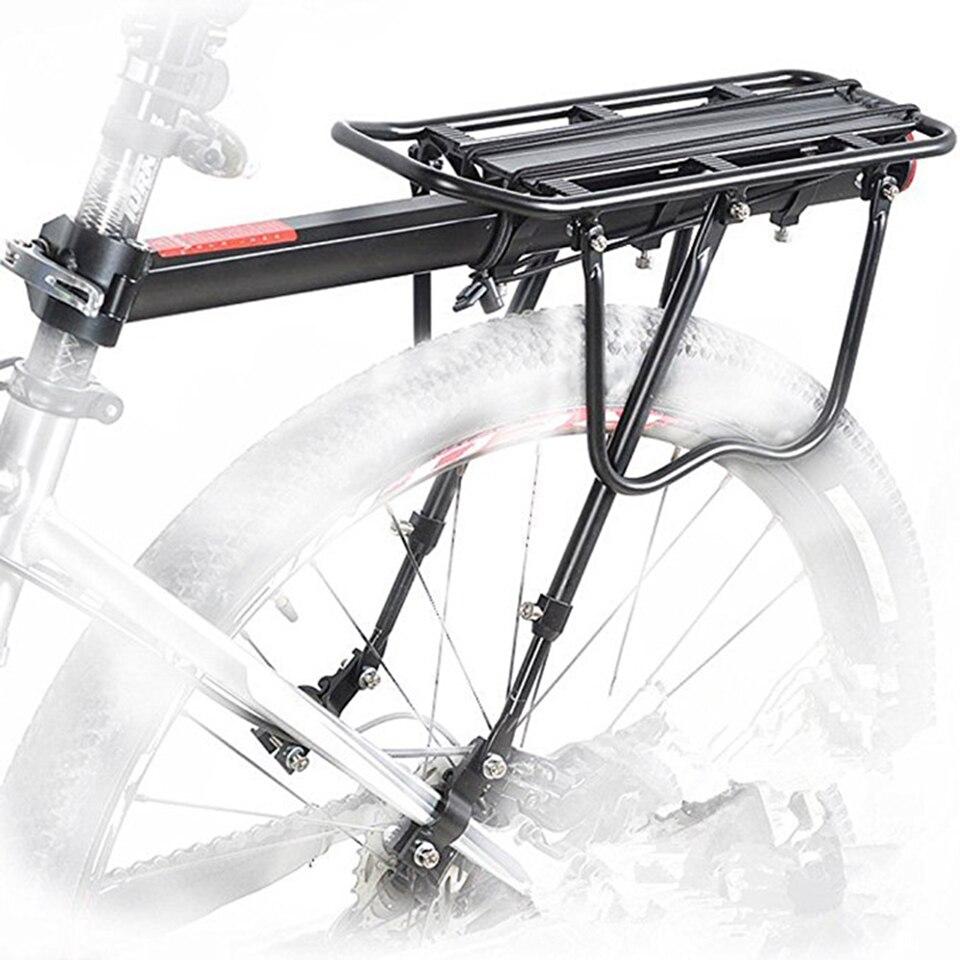 Mandalaa Cycling Bike Bicycle Rear Rack Carrier MTB Pannier Luggage Carrier Rack