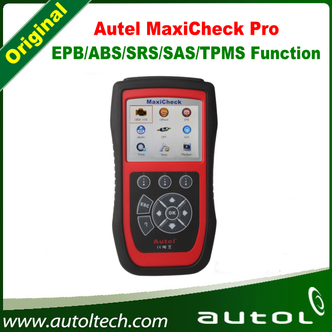 DHL Free Shipping !!! Autel Maxicheck Pro EPB/ABS/SRS/SAS/BMS/DPF Special Application Diagnostic Tool Code Reader Scanner autel md801 pro 4 in 1 code scanner jp701 eu702 us703 fr704 maxidiag pro md 801 code reader