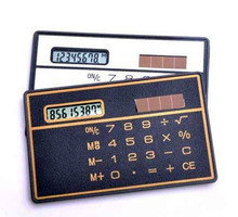 Stationery School Student Function Calculator Credit Card Sized Ultra-thin Portable Solar Powered 8-Digit Mini Calculadora