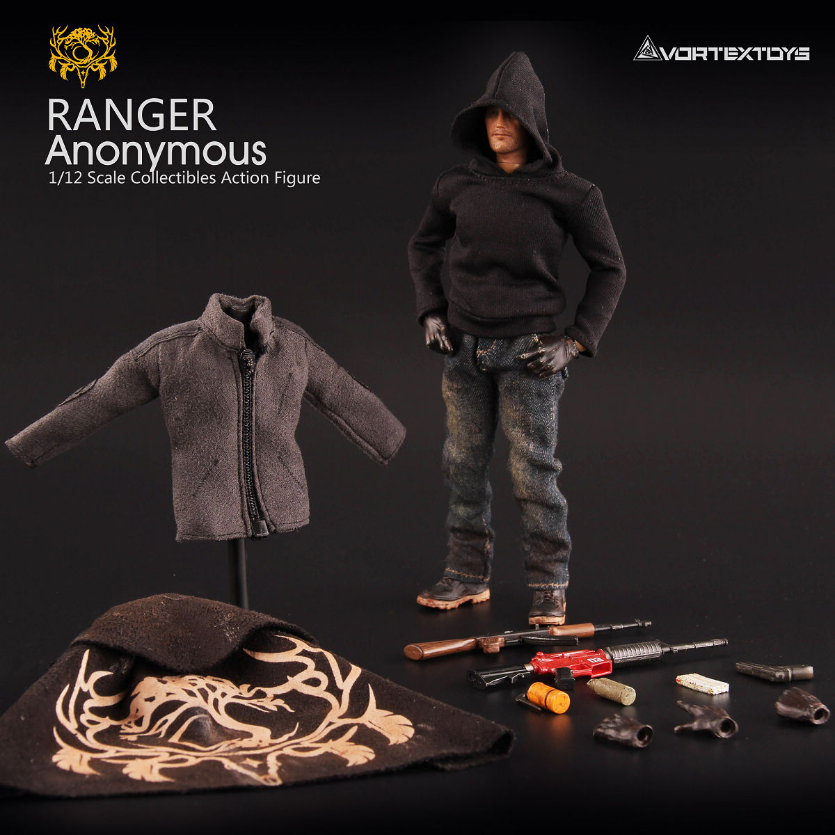 For Collection 1/12 Scale Collectible Full Set Ranger Anonymous Series V00012 The Ranger Man Forester Figure Model for Fans Gift 1