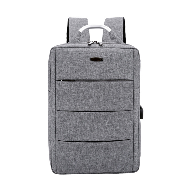 Usb Charging Laptop Canvas Backpack For 15.6 Inch Notebook Waterproof Large Capacity Antitheft