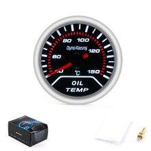 Dynoracing, 2 дюйма, 52 мм, дымовая линза, автомобильная указка, датчик температуры масла 40-150 градусов Цельсия, измеритель температуры масла, автомобильный измеритель