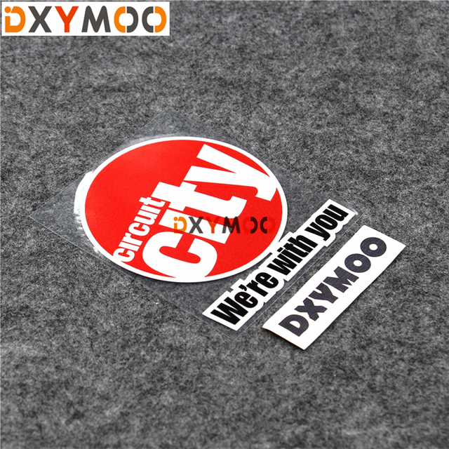 Funny New Energy Car Stickers Were With You Circuit City Oil Tank