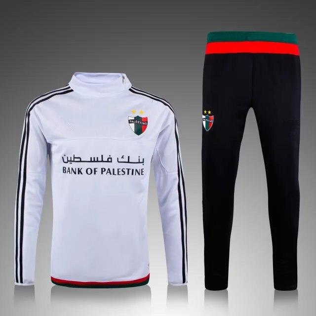 298c6b1630d59 2015 2016 nouvelle Palestino survêtement 2016 survetement Football veste de  survêtement Chandal Football Kits futol jogging skinny chandail dans  Football ...