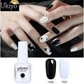 Гель-лак Ukiyo 15 мл, черный, белый, красный цвет, Гель-лак для ногтей, удаляемый замачиванием, Гель-лак для ногтей, полуперманентные лаки для ног...