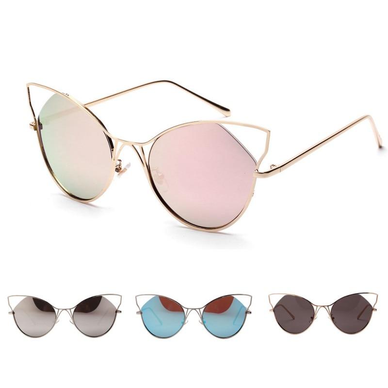 Brand Designer Metal Thin Legs Sunglasses Women Luxury font b Cat b font font b Eye