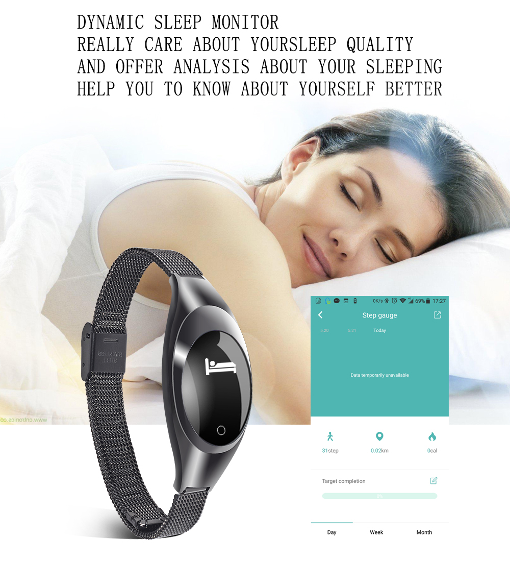 Smart Wristband Z18 Bluetooth Bracelet Blood Pressure Oxygen Heart Rate Monitor Waterproof Pedometer For iOS Android Women Men 6