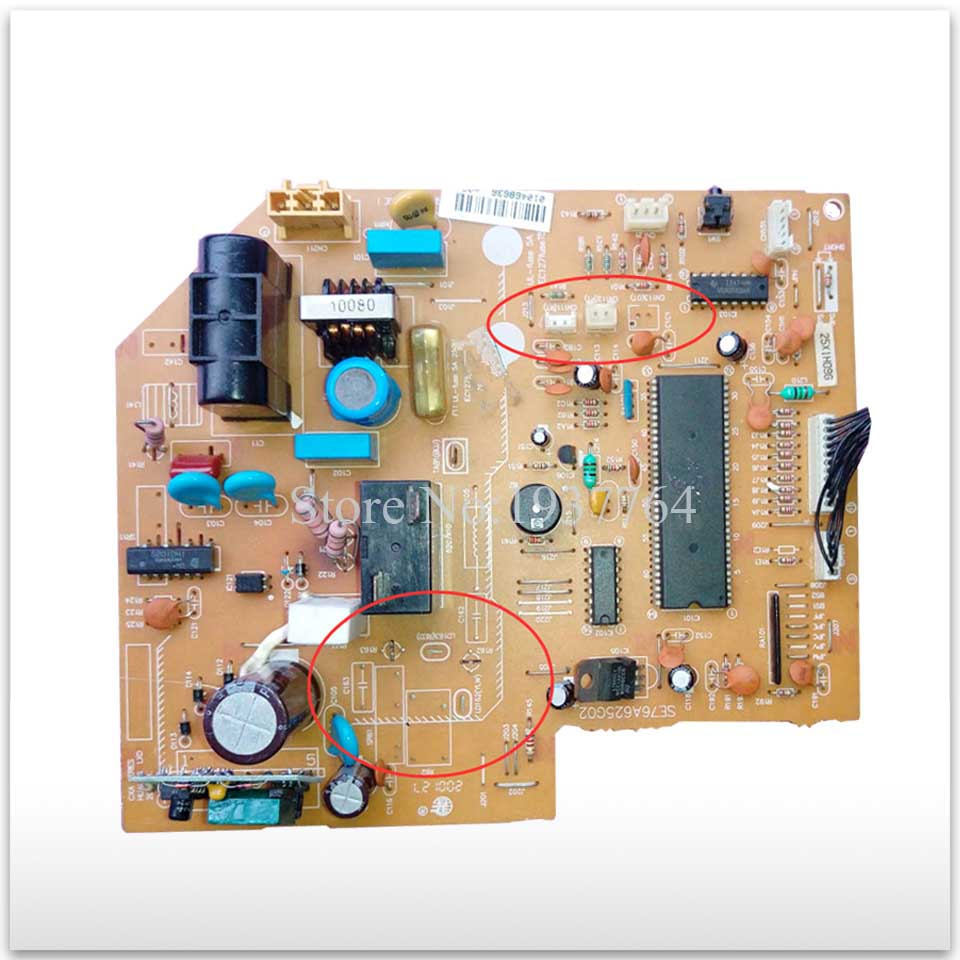 95% new for Air conditioning computer board circuit board SE76A625G02 used board good working цены